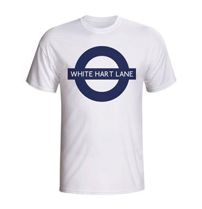 Buy White Hart Lane London Tube T shirt White