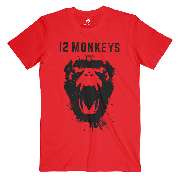 12 Monkeys Movie T Shirts Design By Volta Available