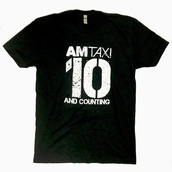 10 And Counting Anniversary T Shirt