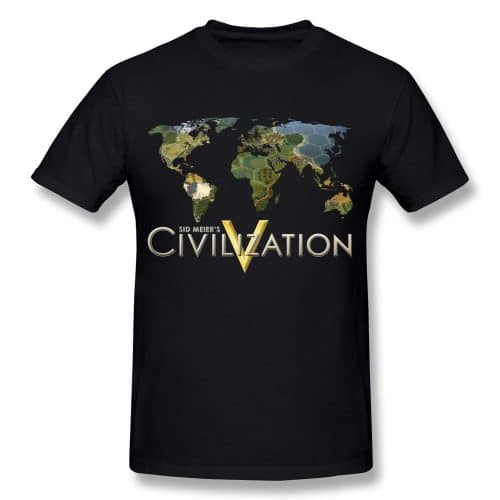 Sid Meiers Civilization V Game T Shirts T roundup