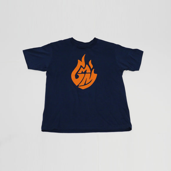 Good Mythical Morning Logo Tee Kids Navy Mythical Store Shirt