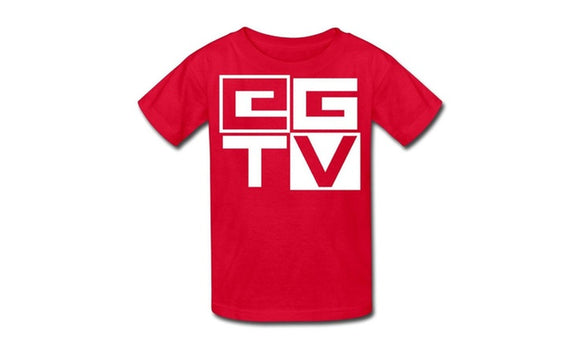 Youth Ethan Gamer Tv Logo T Shirt