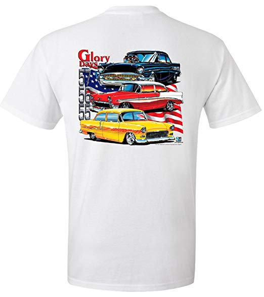 1955 1956 1957 Chevrolet Glory Days T Shirt 100