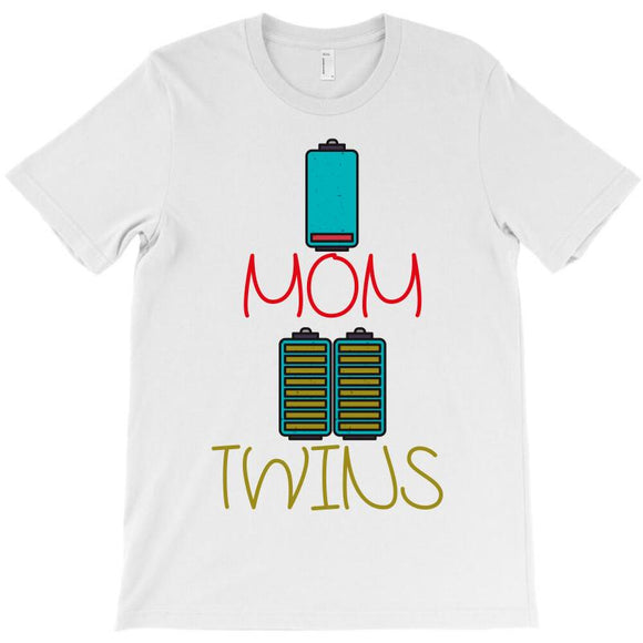 Custom Mom Of Twins T shirt By Wizarts