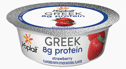 Greek Strawberry Yogurt - 24 x 3.5 oz