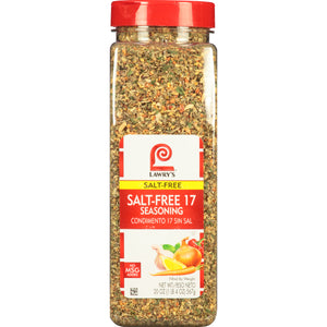 Salt-Free 17 Seasoning - 20 oz