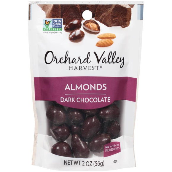 Dark Chocolate Covered Almonds - 14 x 2 oz