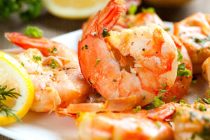 Tail-On Raw Shrimp - 2 lb (16-20 per pound)