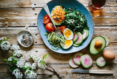 healthy diet and tea to lose weight