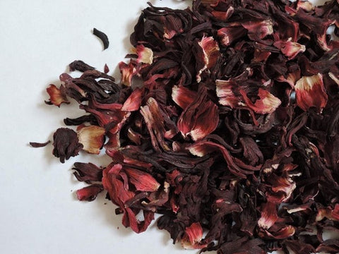 tea made from hibiscus flowers