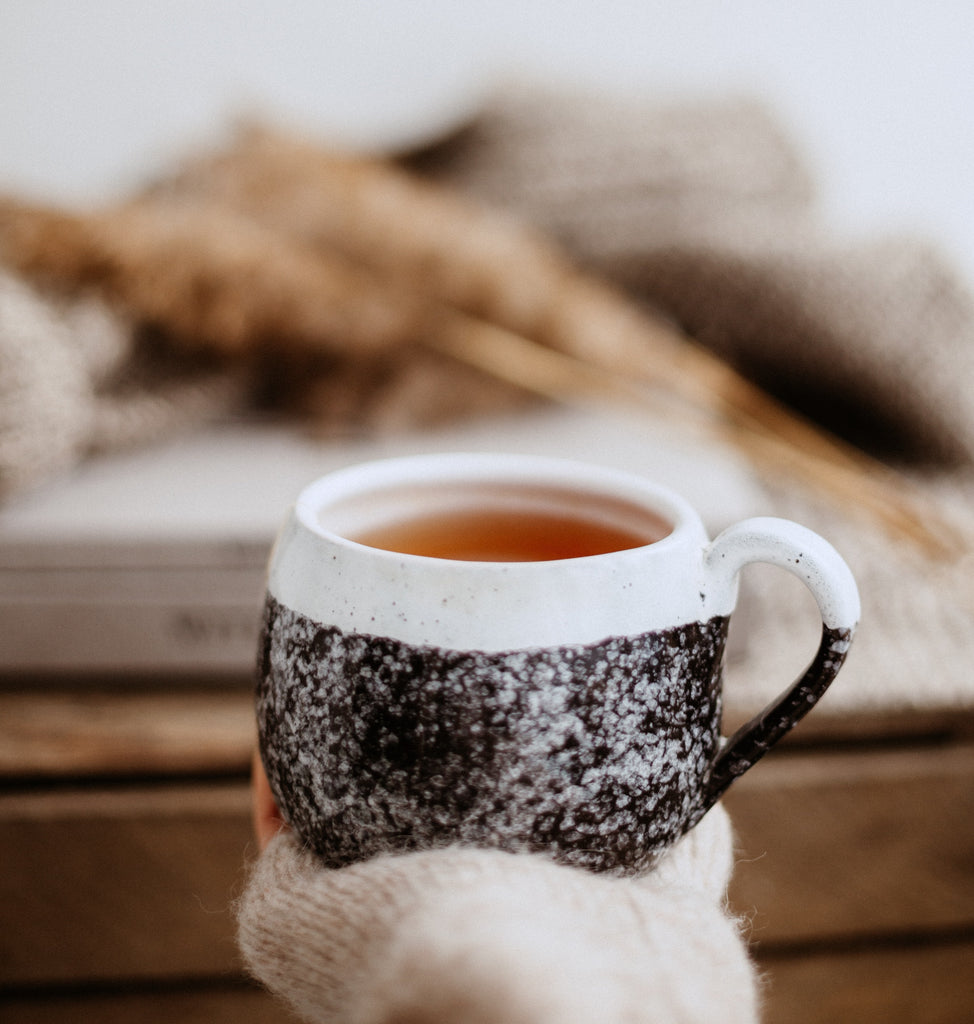 Warm cup of chai