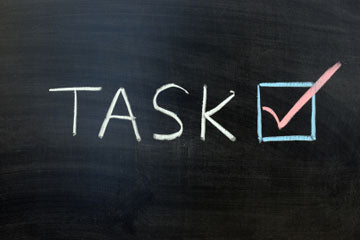 Tasks on blackboard