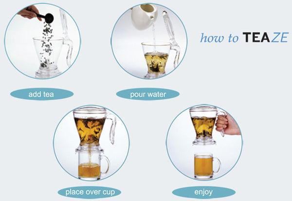Teaze Tea Infuser Instructions