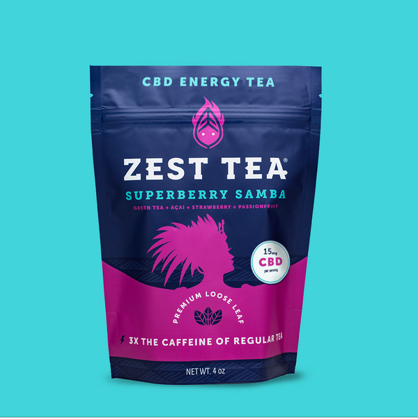 Superberry Samba CBD Tea