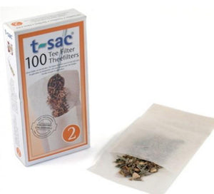 T-Sac Loose Leaf Filter [100 Pack]
