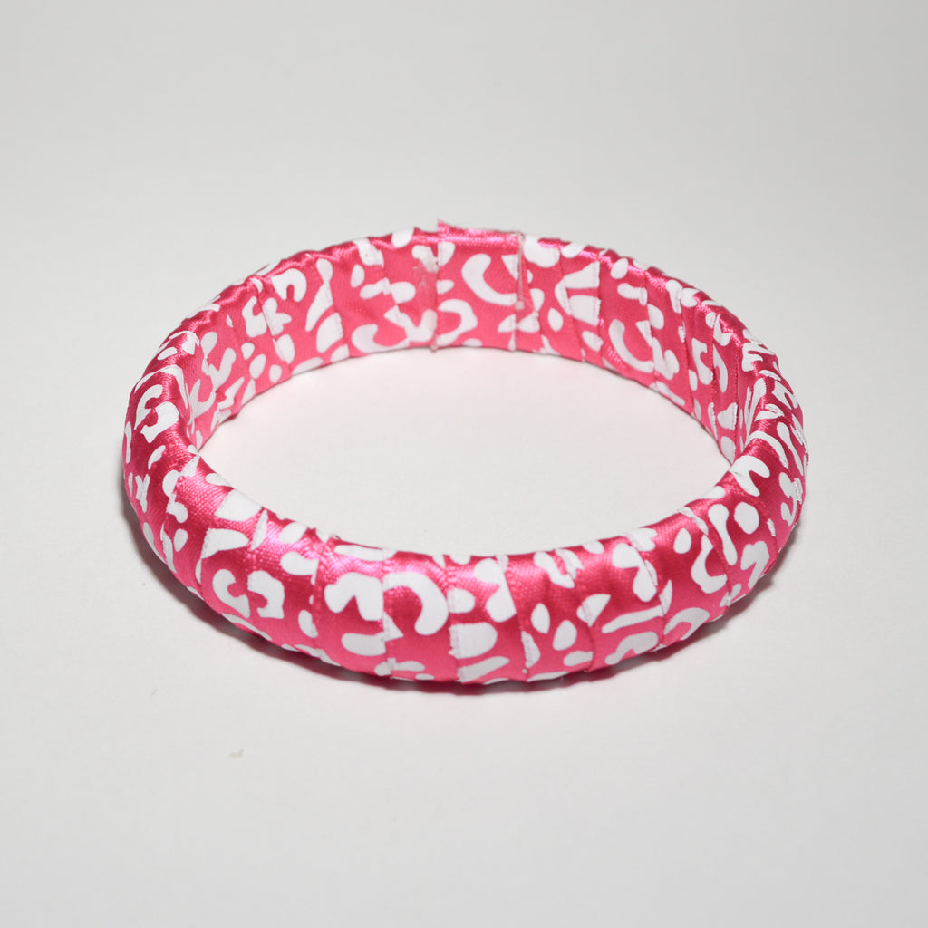 Pink Splash Bangle