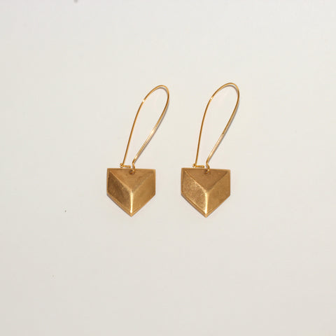 Geometric Chevron Earrings