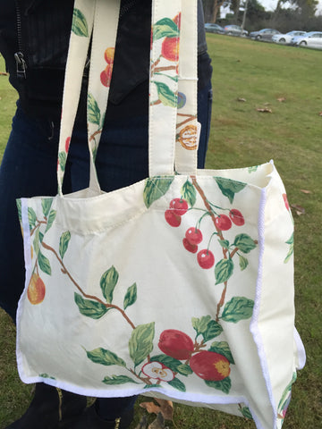 Fruit Farm White Tote