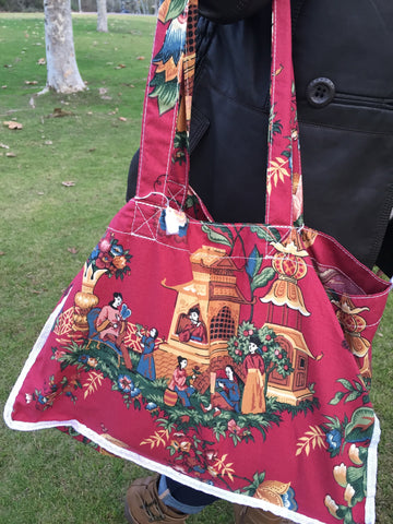 Asian Holiday Tote