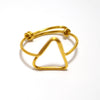 Triangle Ring (Gold)