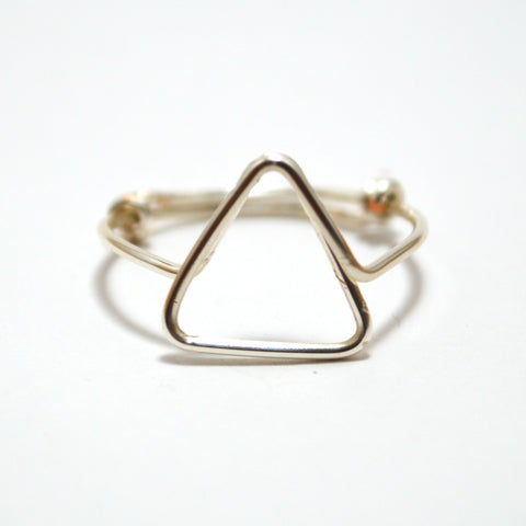 Triangle Ring (Silver)