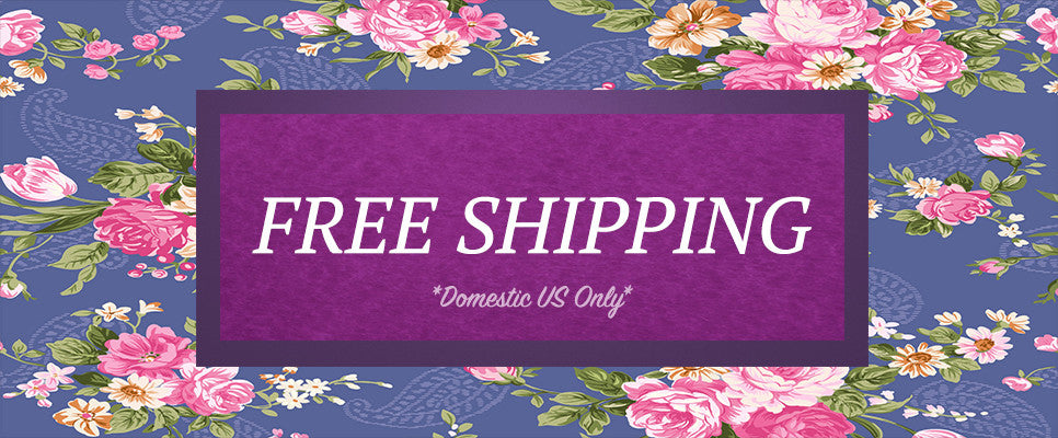 Free Shipping *Domestic US only*
