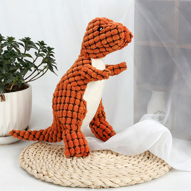 Dinosaur Cotton Rope Stuffed Animal Soft Durable Plush Dog Toy (Various Colors) - dogsl1fe.myshopify.com - FREE SHIPPING - [variant_title] - Home of Top quality dog products & Accessories for dogs and dog lovers