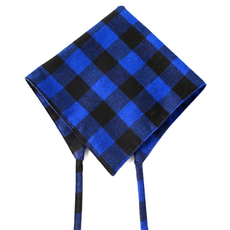 Cotton Plaid Check Dog Bandanna Kerchief Pet Scarf (4 Colors) - dogsl1fe.myshopify.com - FREE SHIPPING - [variant_title] - Home of Top quality dog products & Accessories for dogs and dog lovers