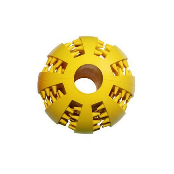 Durable Non-Toxic Rubber Treat Maze Section Dog Toy Ball (Various Colors) - dogsl1fe.myshopify.com - FREE SHIPPING - [variant_title] - Home of Top quality dog products & Accessories for dogs and dog lovers