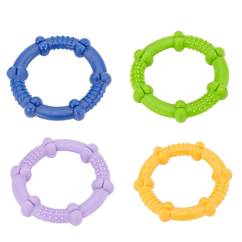 Hoop Durable Non-Toxic Rubber Throwing Circle Dog Chew Toy (Various Colors) - dogsl1fe.myshopify.com - FREE SHIPPING - [variant_title] - Home of Top quality dog products & Accessories for dogs and dog lovers