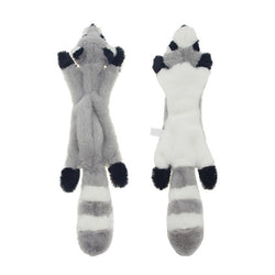 Animal Soft Fox Squirrel Skunk Plush Dog Toy (Various Styles) - dogsl1fe.myshopify.com - FREE SHIPPING - A / United States - Home of Top quality dog products & Accessories for dogs and dog lovers