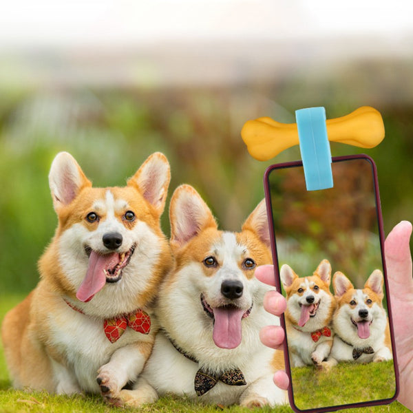 Mini Silicone Dog Selfie Smartphone Attachment - dogsl1fe.myshopify.com - FREE SHIPPING - [variant_title] - Home of Top quality dog products & Accessories for dogs and dog lovers