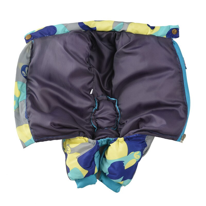 Camouflage Waterproof Reflective Padded Winter Quilted Jumpsuit Dog Coat with Zipper (Various Colors & Sizes XS-XXXL) - dogsl1fe.myshopify.com - FREE SHIPPING - [variant_title] - Home of Top quality dog products & Accessories for dogs and dog lovers
