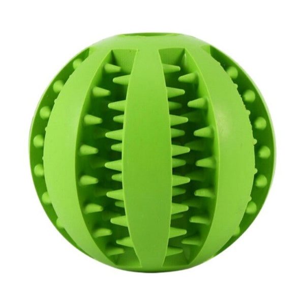 Rubber Ball Treat Section Durable Chew Treat Dog Toy (Various Colors) - dogsl1fe.myshopify.com - FREE SHIPPING - B / 5CM / United States - Home of Top quality dog products & Accessories for dogs and dog lovers
