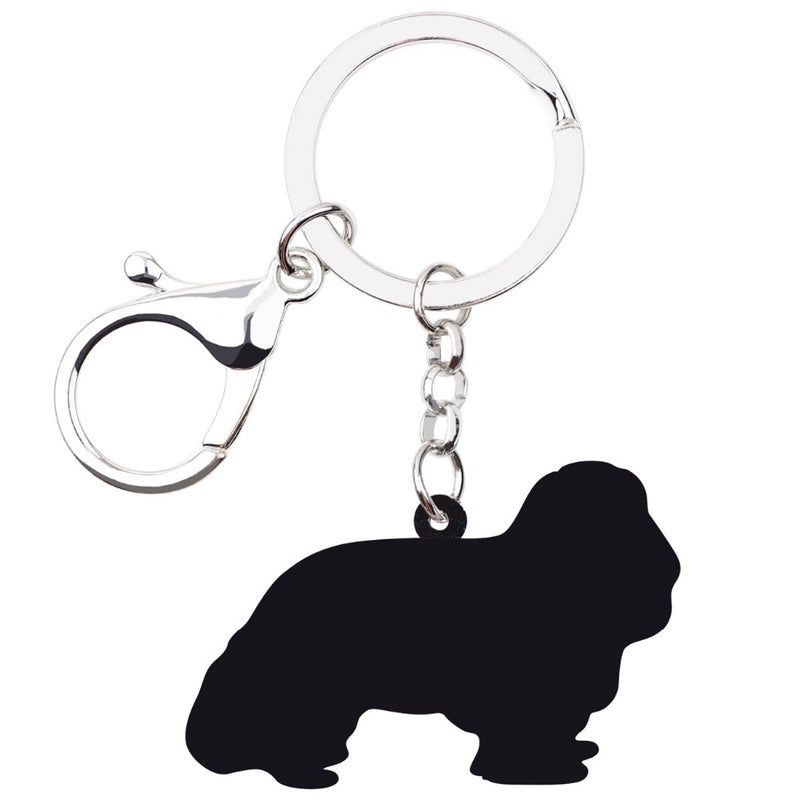 Cavalier King Charles Spaniel Acrylic Charm Keyring Dog Pup Keychain - dogsl1fe.myshopify.com - FREE SHIPPING - [variant_title] - Home of Top quality dog products & Accessories for dogs and dog lovers