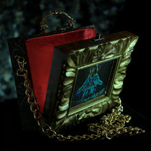 Load image into Gallery viewer, La Infanta in a hand carved frame hand bag