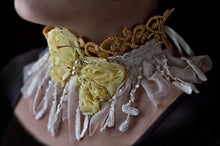 Load image into Gallery viewer, Yellow butterfly choker