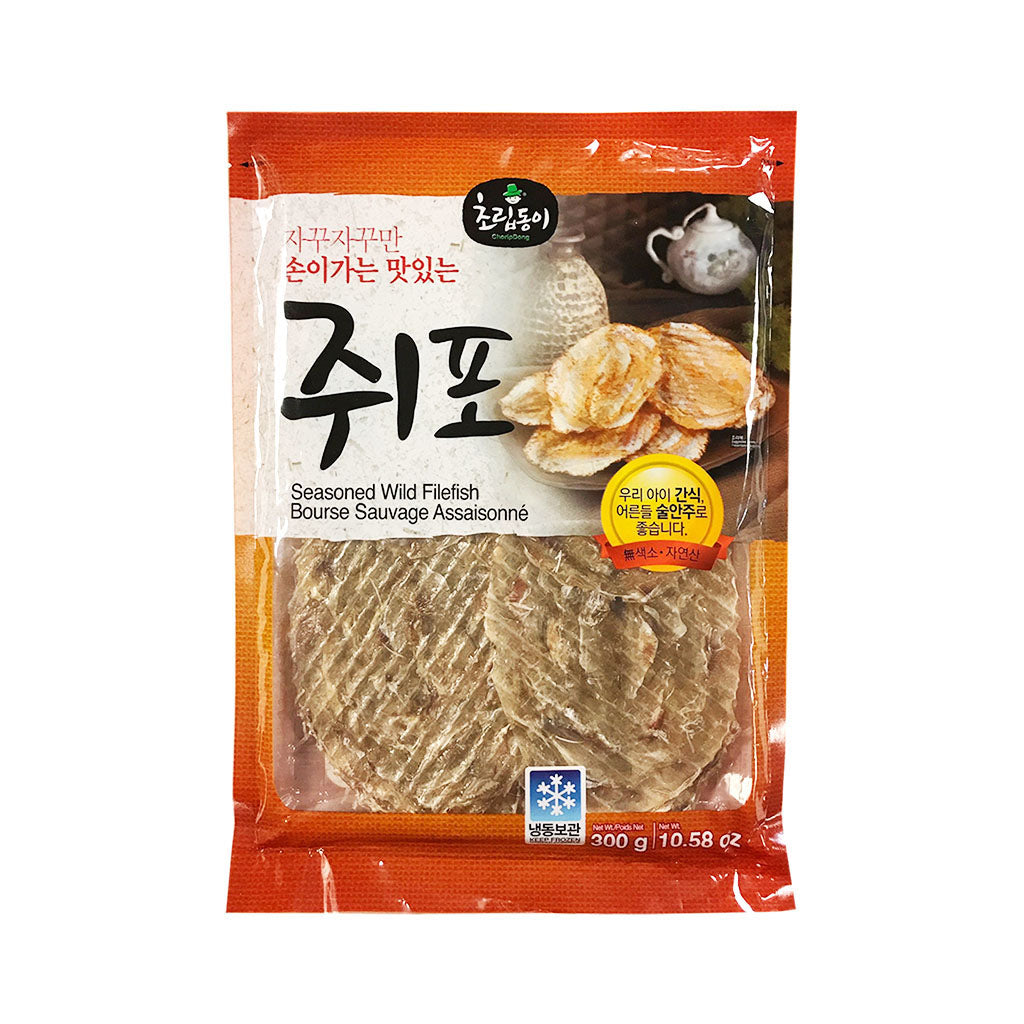 AJ1015T<br>Choripdong Dried Filefish Fillet 30/200G