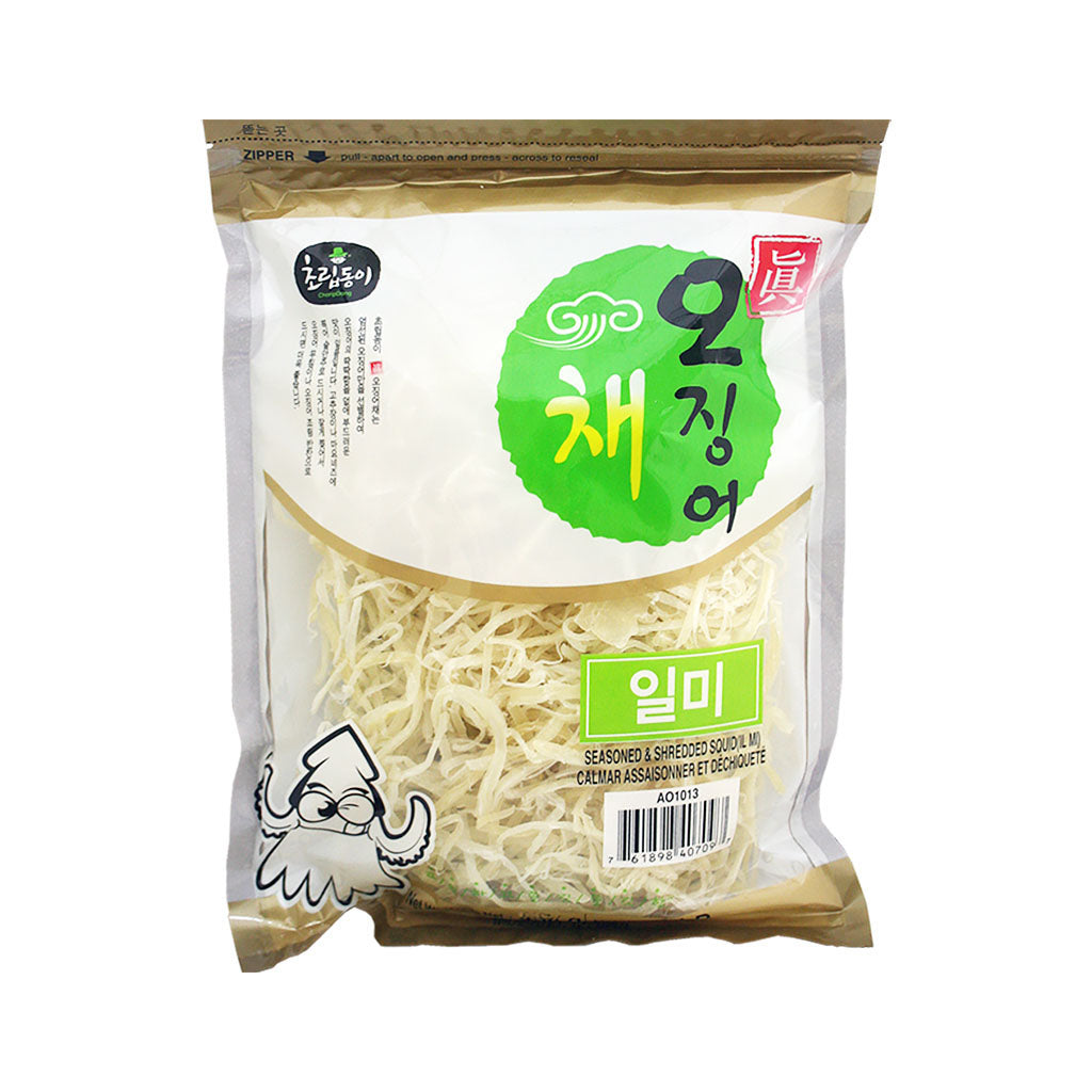 AO1013A<br>Choripdong Seasoned & Shredded Squid 12/454G