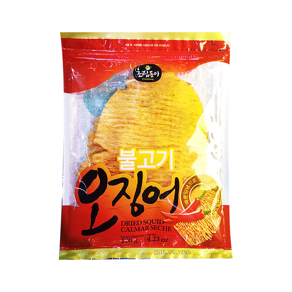AO2004<br>Choripdong Dried Whole Squid(Bulgogi Flavour) 20/12