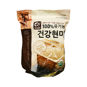 CO1002<br>O!Grain Organic Brown Rice 12/3.5LB