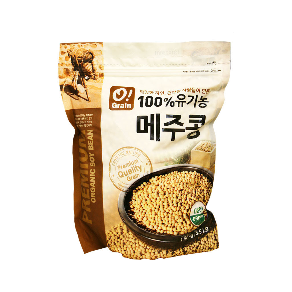 CO1004<br>O!Grain Organic Soy Bean 12/3.5LB