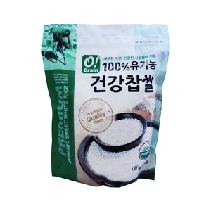 CO1009<br>O!Grain Organic Sweet Rice 12/3.5LB