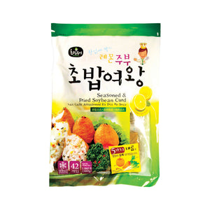 EC0011<br>Choripdong Lemon Seasoned Fried Soybean Curd 12/480G