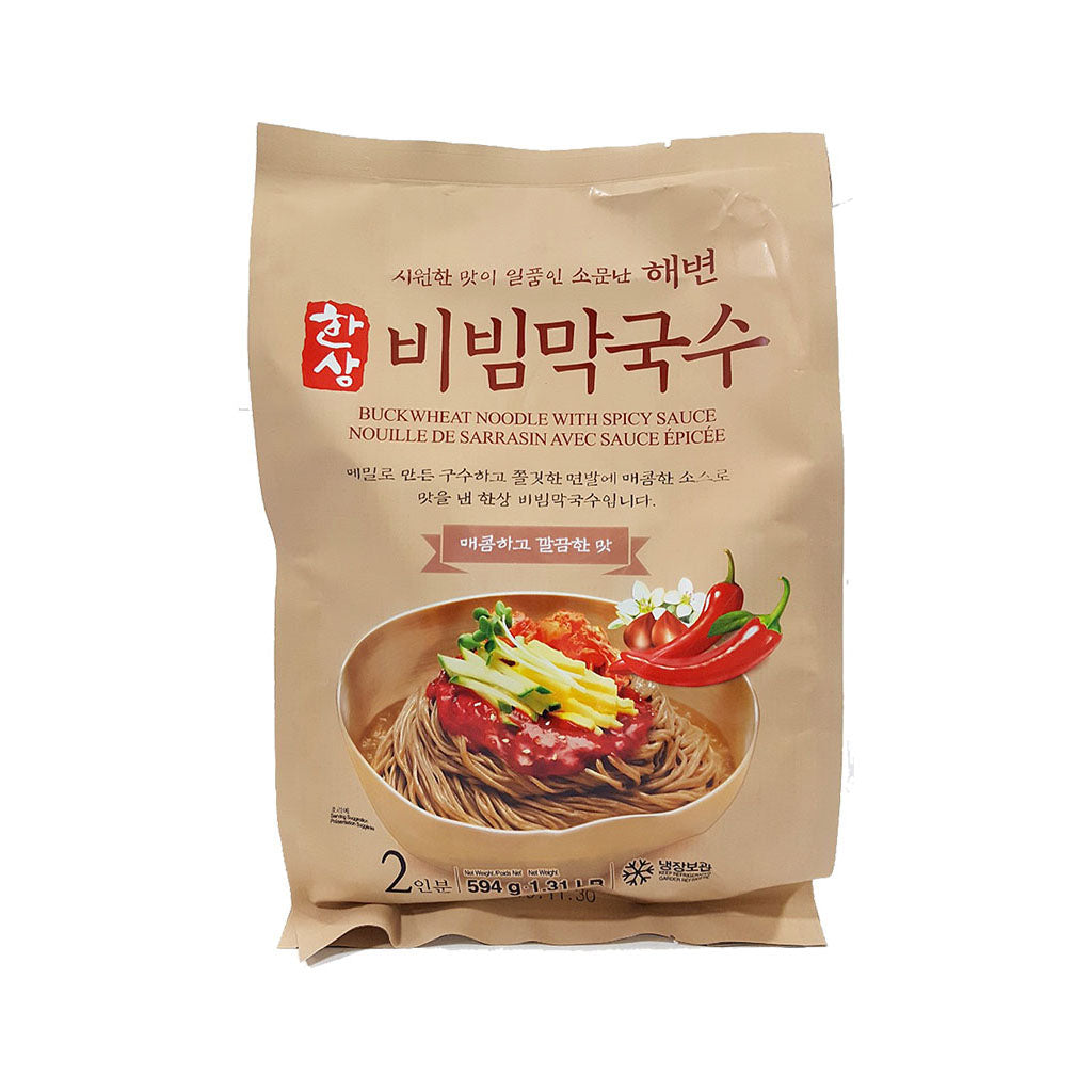 EC1247<br>Hansang Spicy Buckwheat Noodles (Including Sauce) 10/594G