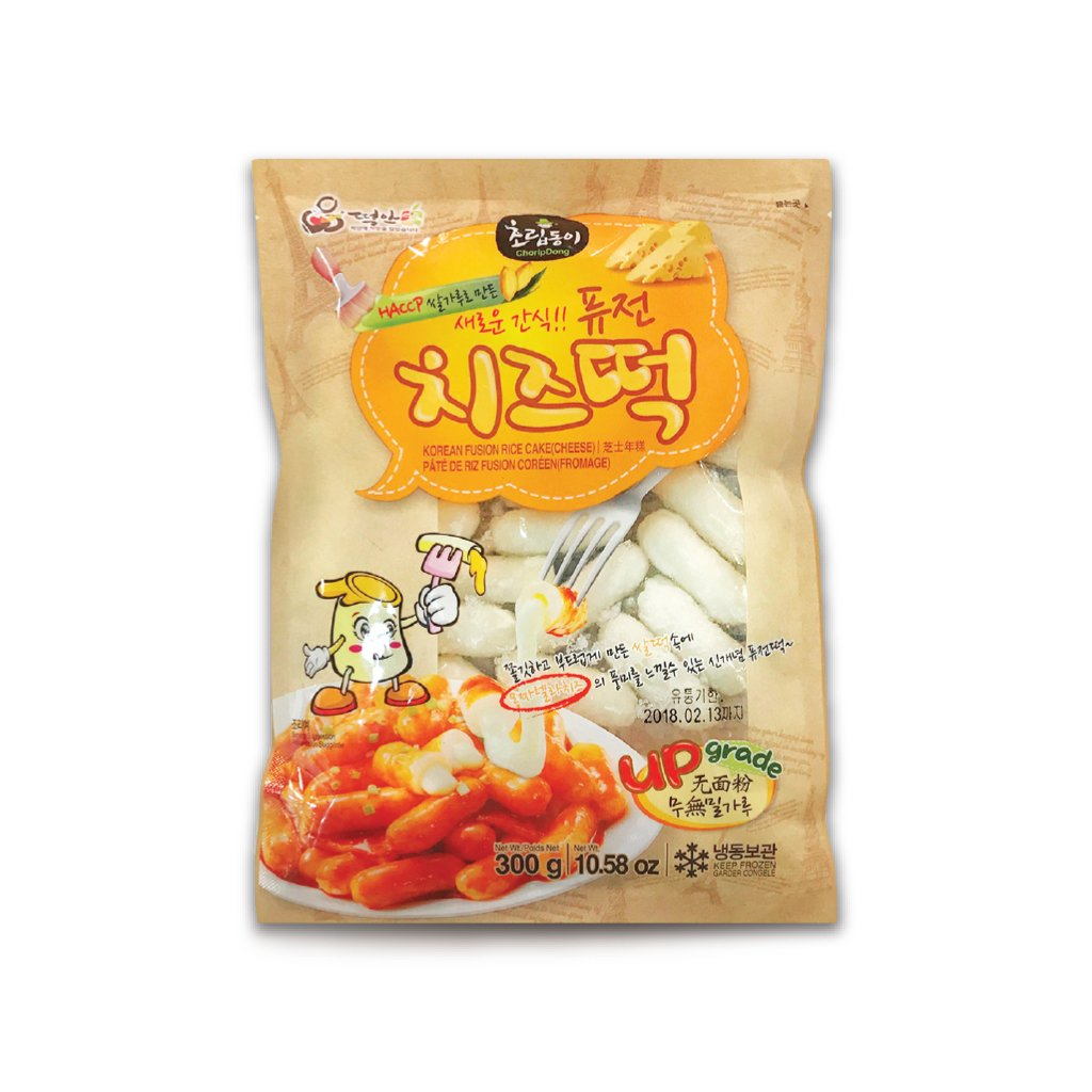 EC1501<br>Choripdong Fusion Cheese Rice Cake 20/10.58Oz(300G)