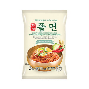 EH1151<br>Hansang Chewing Noodle With Spicy (For 2) 12/520G