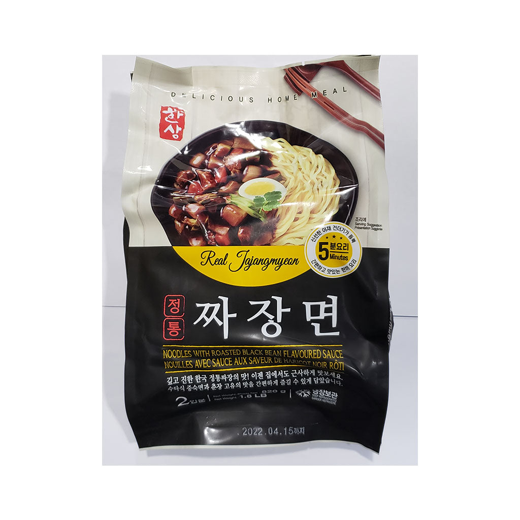EH1165<br>HANSANG)NOODLES WITH ROASTED BLACKBEAN SAUCE 16/1.8LB(820G)