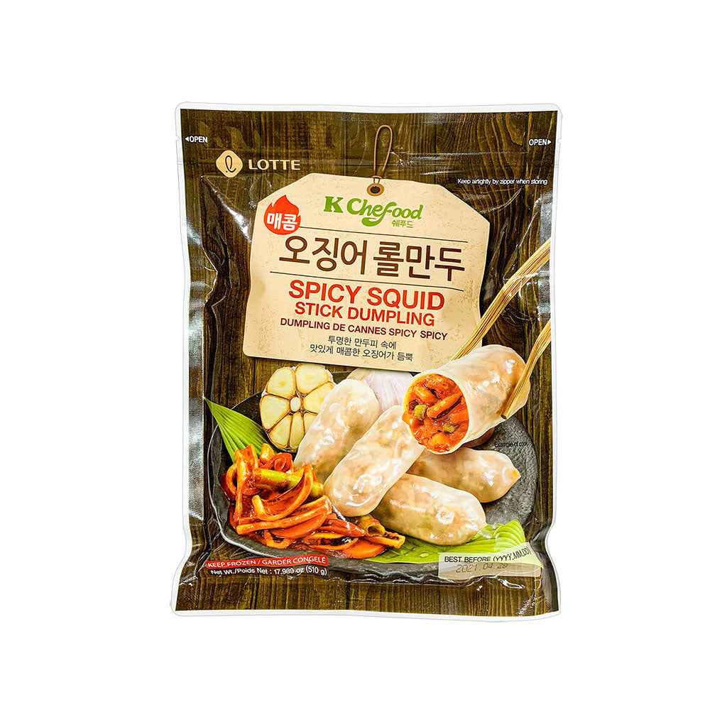 EL6009<br>Lotte Food Frozen Dumpling With Spicy Squid 15/510G