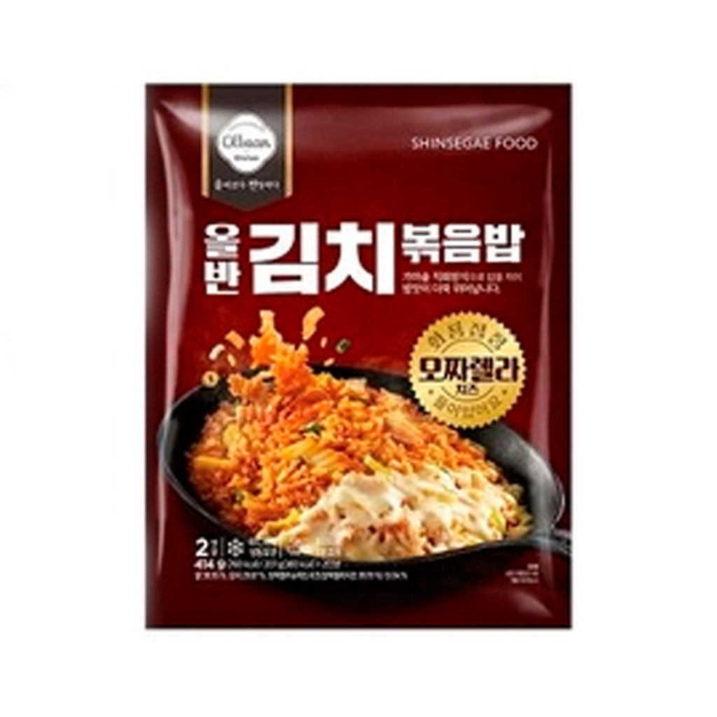 EO9011<br>Shinsegae Food Olbaan Kimchi Fried Rice (Mozzarella Cheeze) 10/2/207G